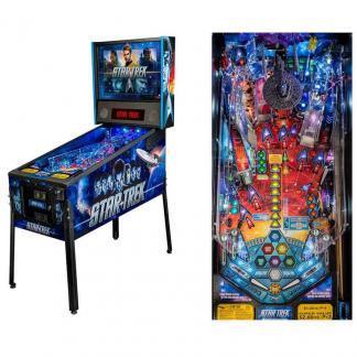 Stern Star Trek Vault Pro Pinball Game Machine   moneymachines.com