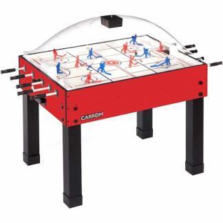Carrom Super Stick Hockey Table - 417.00 Red | moneymachines.com