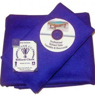 Billiard Cloth Re-felting Kit Proline Classic 303 Precut Purple Color | moneymachines.com