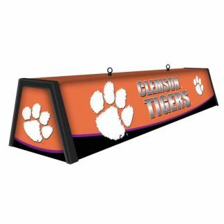 """Clemson Tigers College 44"""" Victory Game Table Lamp 
