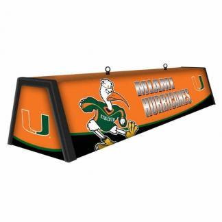 "Miami Hurricanes College 44"" Victory Game Table Lamp 