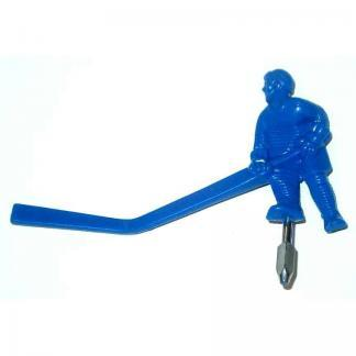 Carrom Stick Hockey Table Blue Long Stick Man Player   moneymachines.com