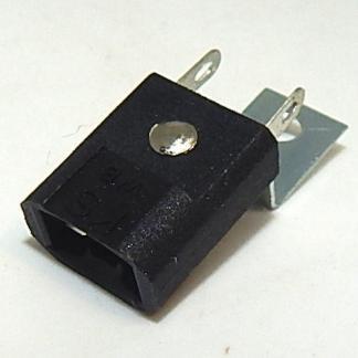 Miniature Wedge Base 2-Lead Lamp Socket With Rear Mounting Bracket | moneymachines.com