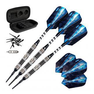 Viper Astro Black Rings Darts 80% Tungsten Soft Tip | moneymachines.com