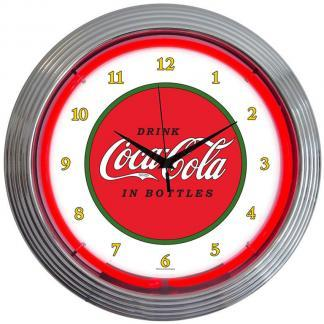 Beverage Neon Wall Clocks