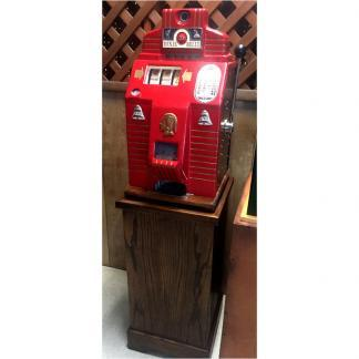 Jennings Dixie Belle Vintage Slot Machine and Stand | moneymachines.com