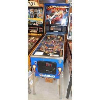 Gottlieb Street Fighter Pinball Machine | moneymachines.com